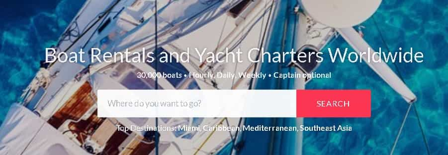ways to rent out your vessel