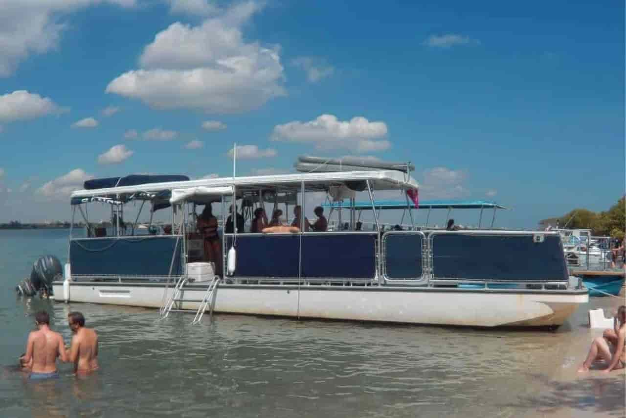 party pontoon boat miami