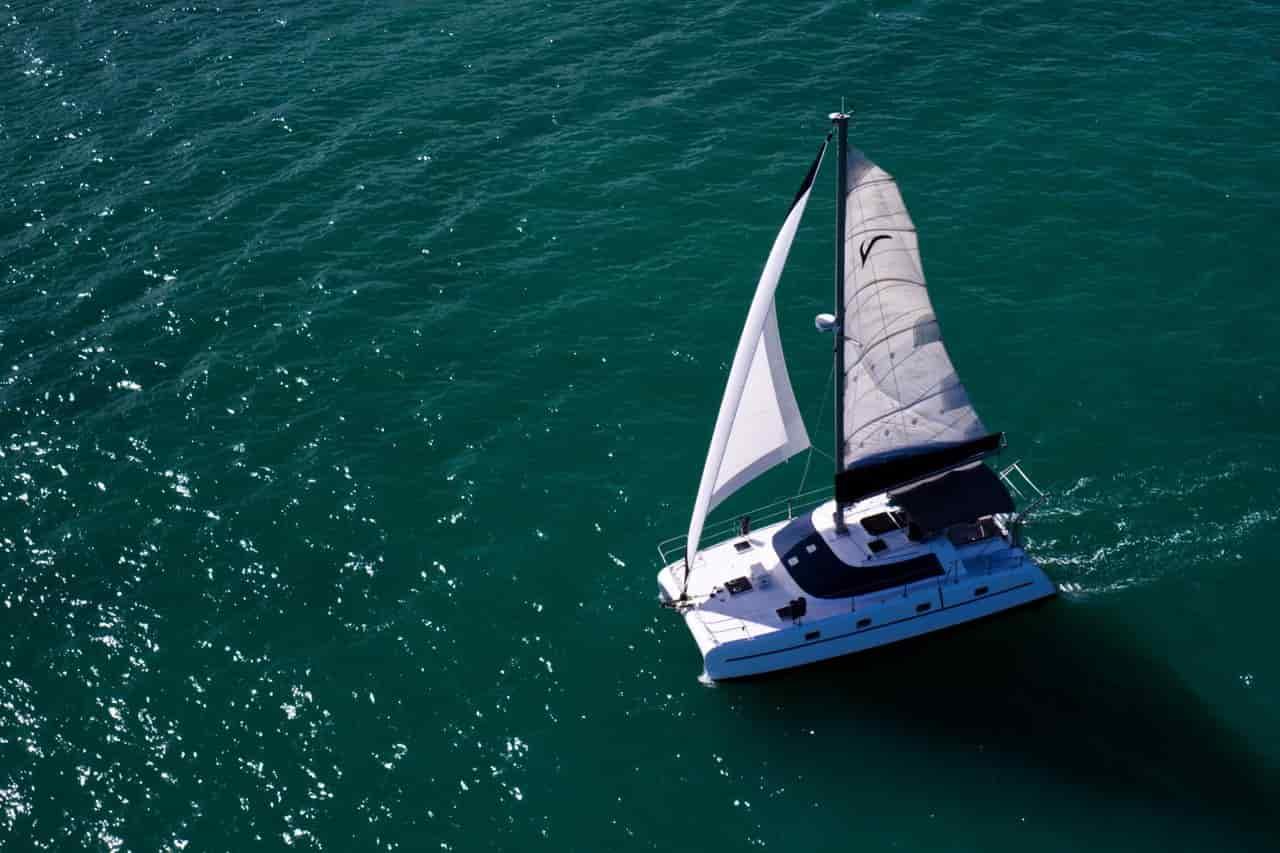 Sailing Boat Key Biscayne