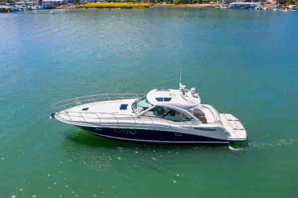 Motorboat with Cabins Miami Beach