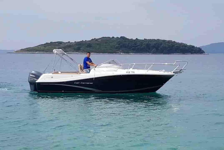 Speedboat Key Biscayne