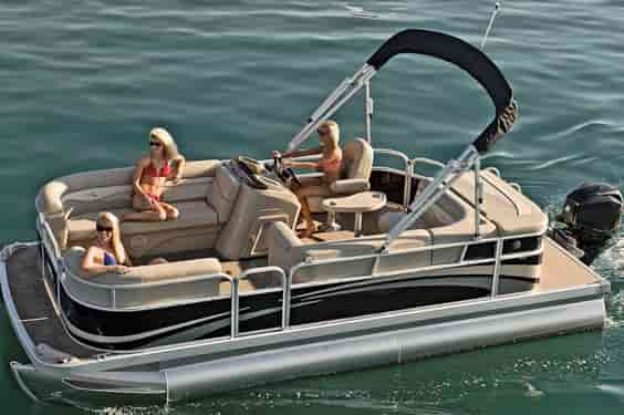 Pontoon Boat for watersports Sunny Isles Beach