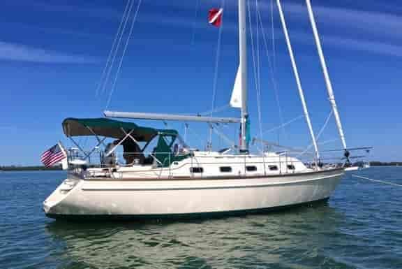 Sailboat Coral Gables 1