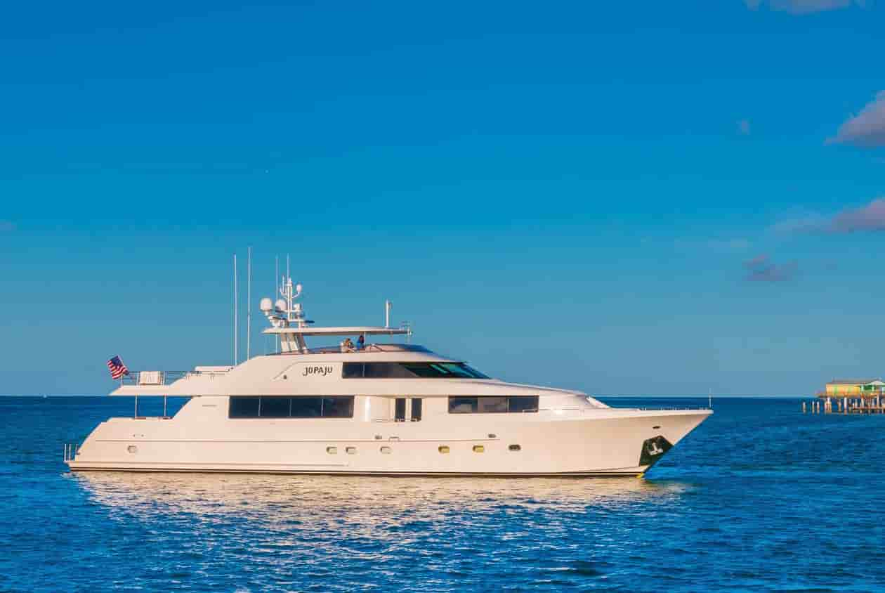 Yacht with cabins coral gables