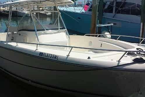 Motorboat Islamorada 1