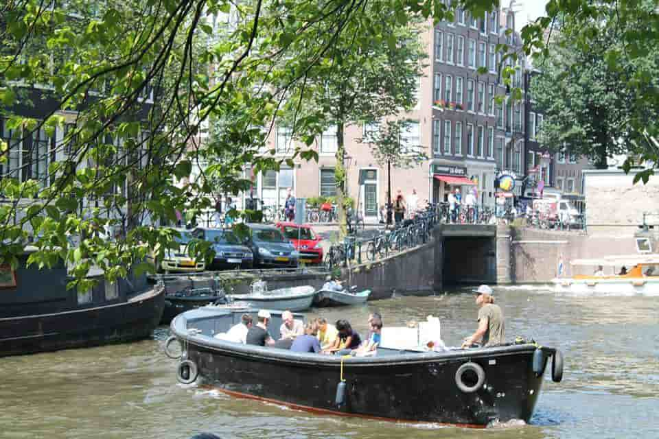 Electric Boat Amsterdam