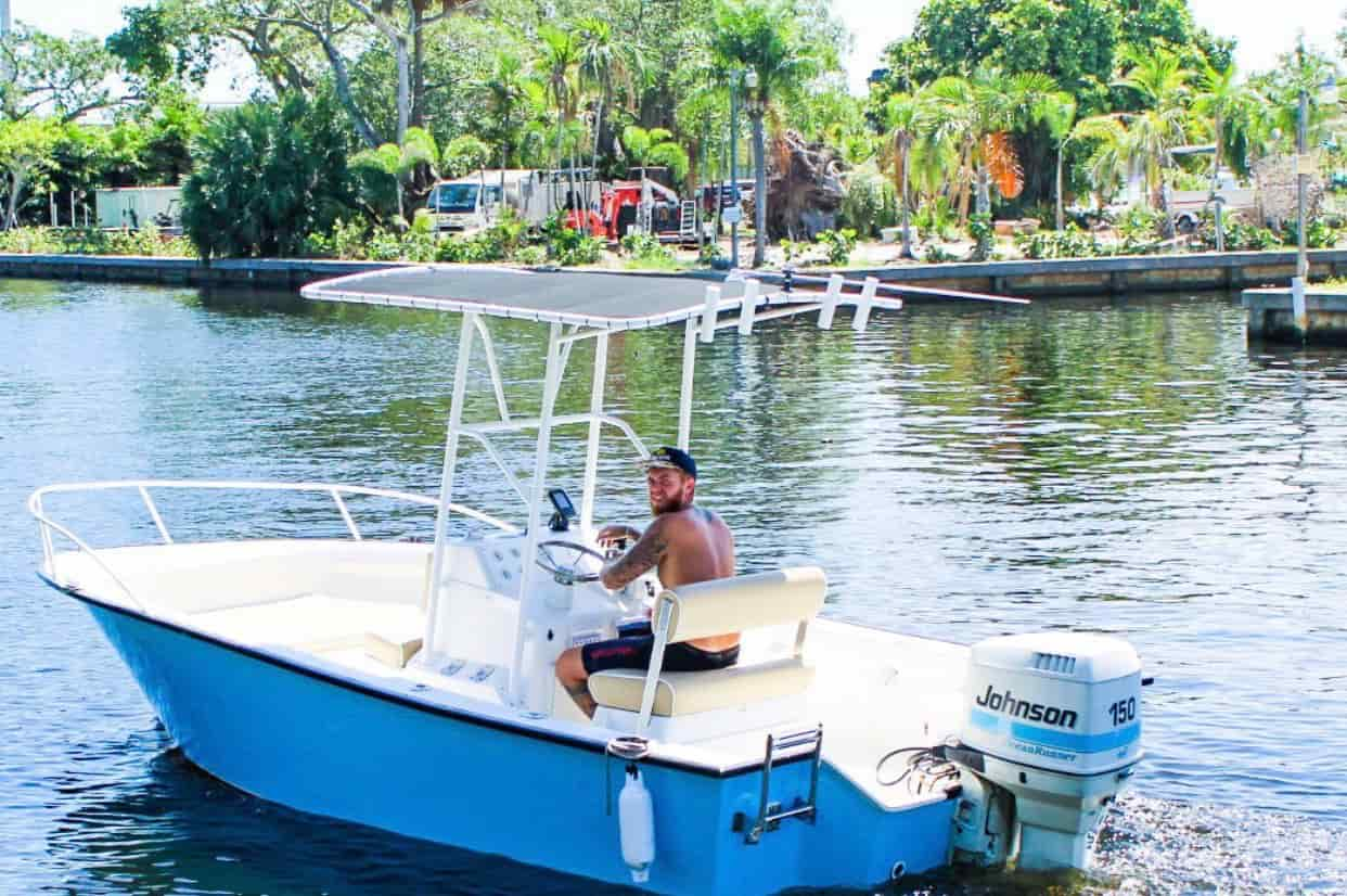 Motorboat Florida 1