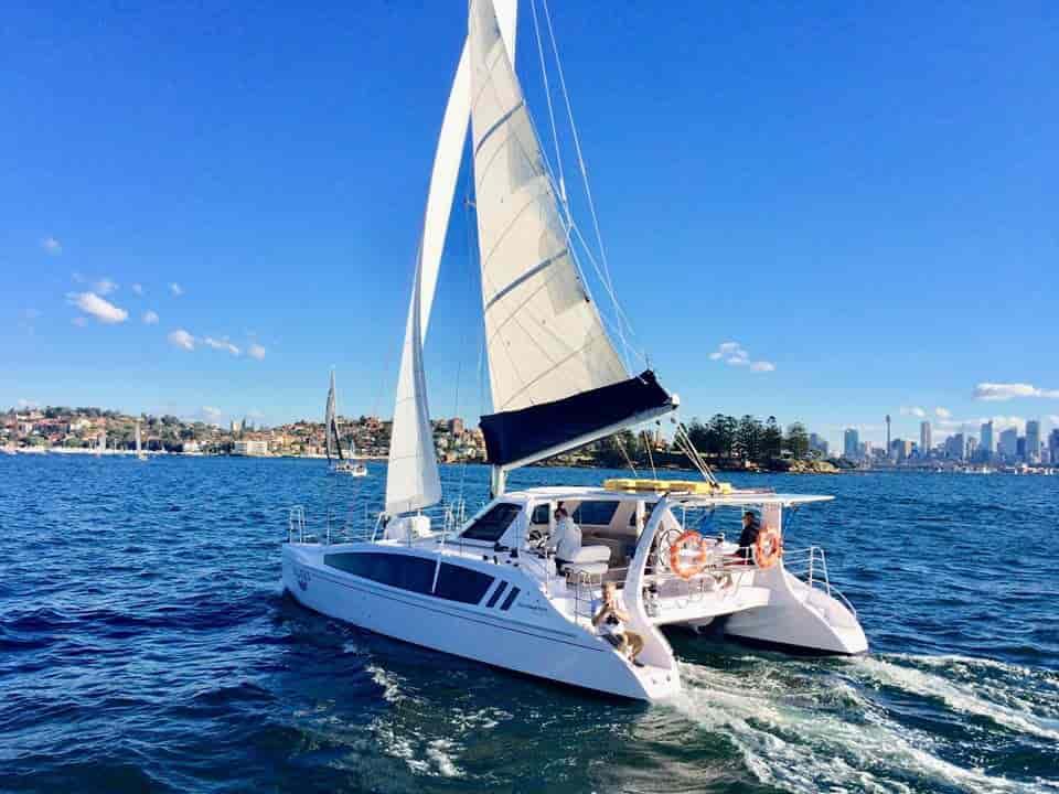 Catamaran Sydney 2