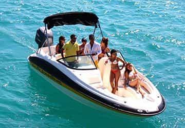 Motorboat Cancún