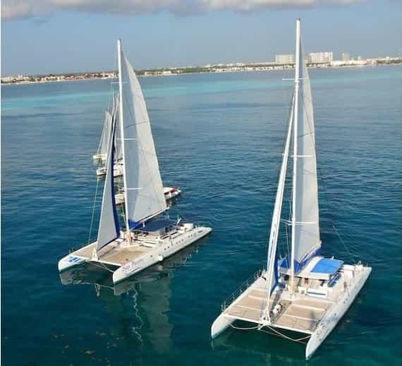 Catamaran Cancun 4