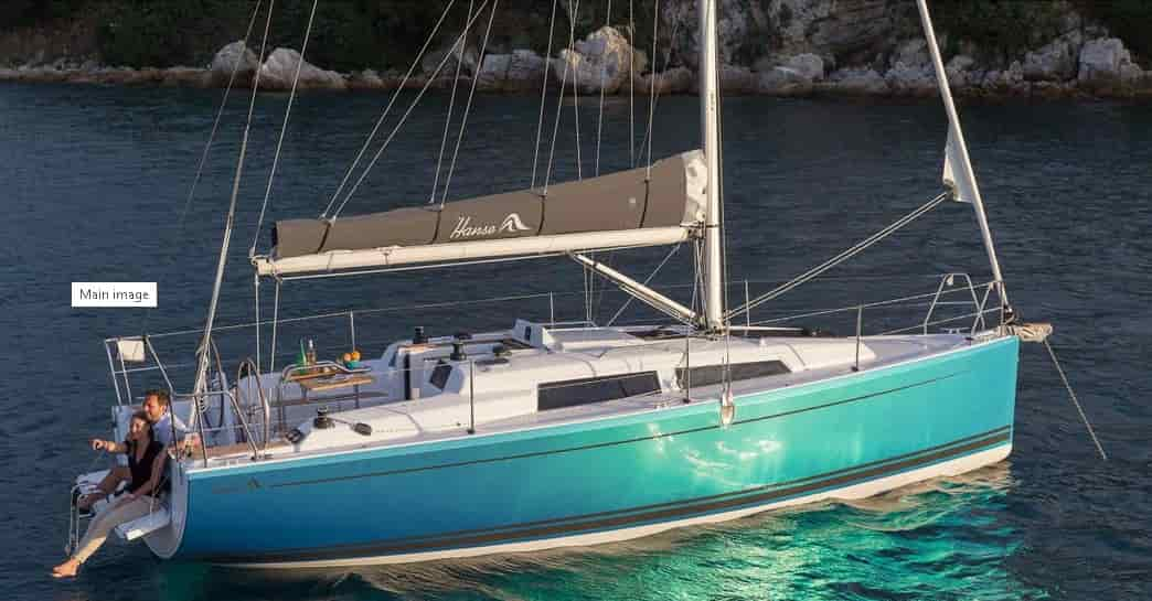Sailboat Saint Tropez