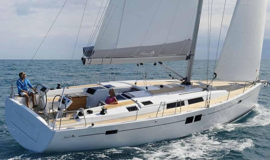 Sailing Boat St Tropez 1