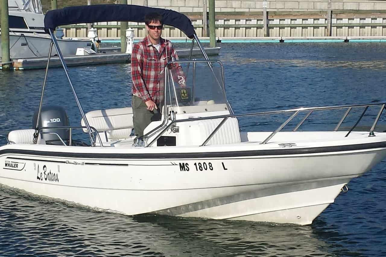 Motorboat Cape Cod 1