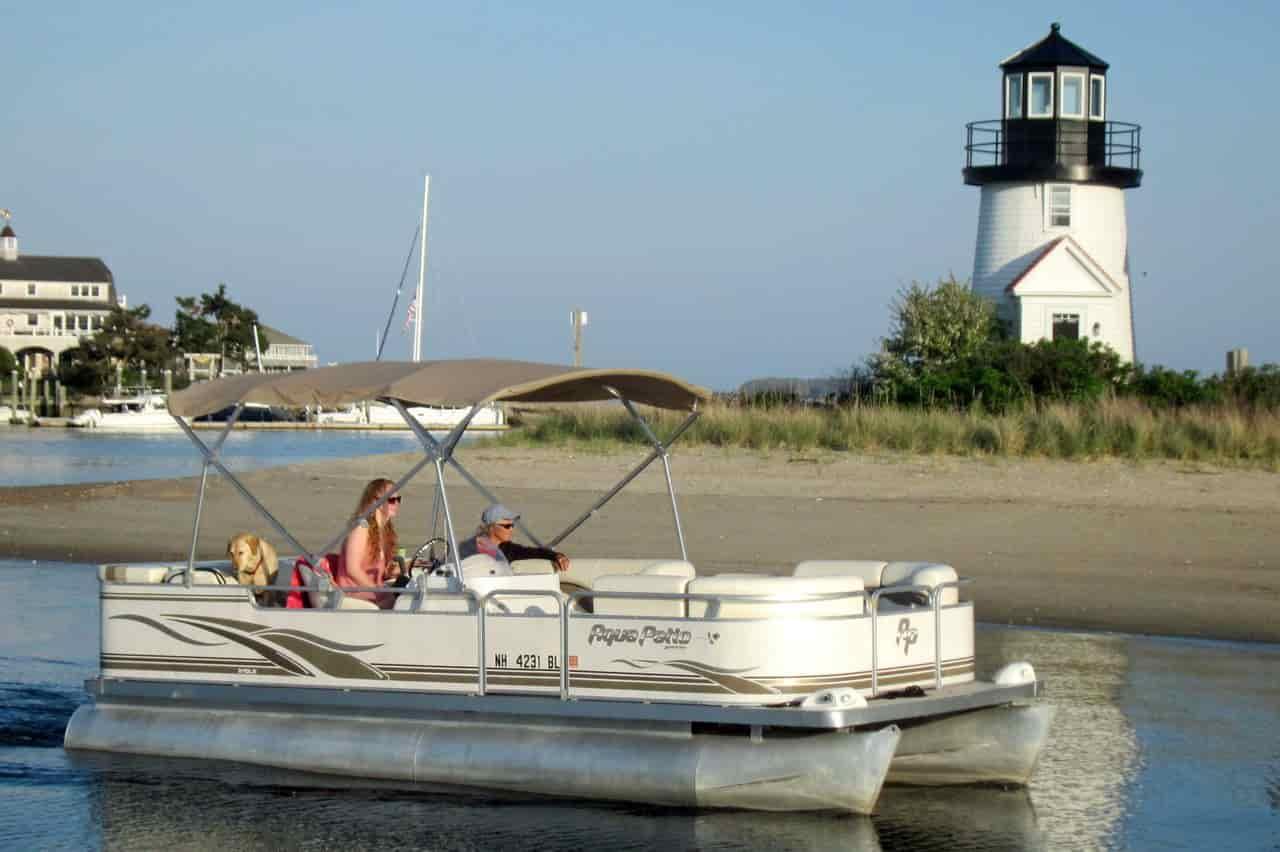 Pontoon Boat Cape Cod