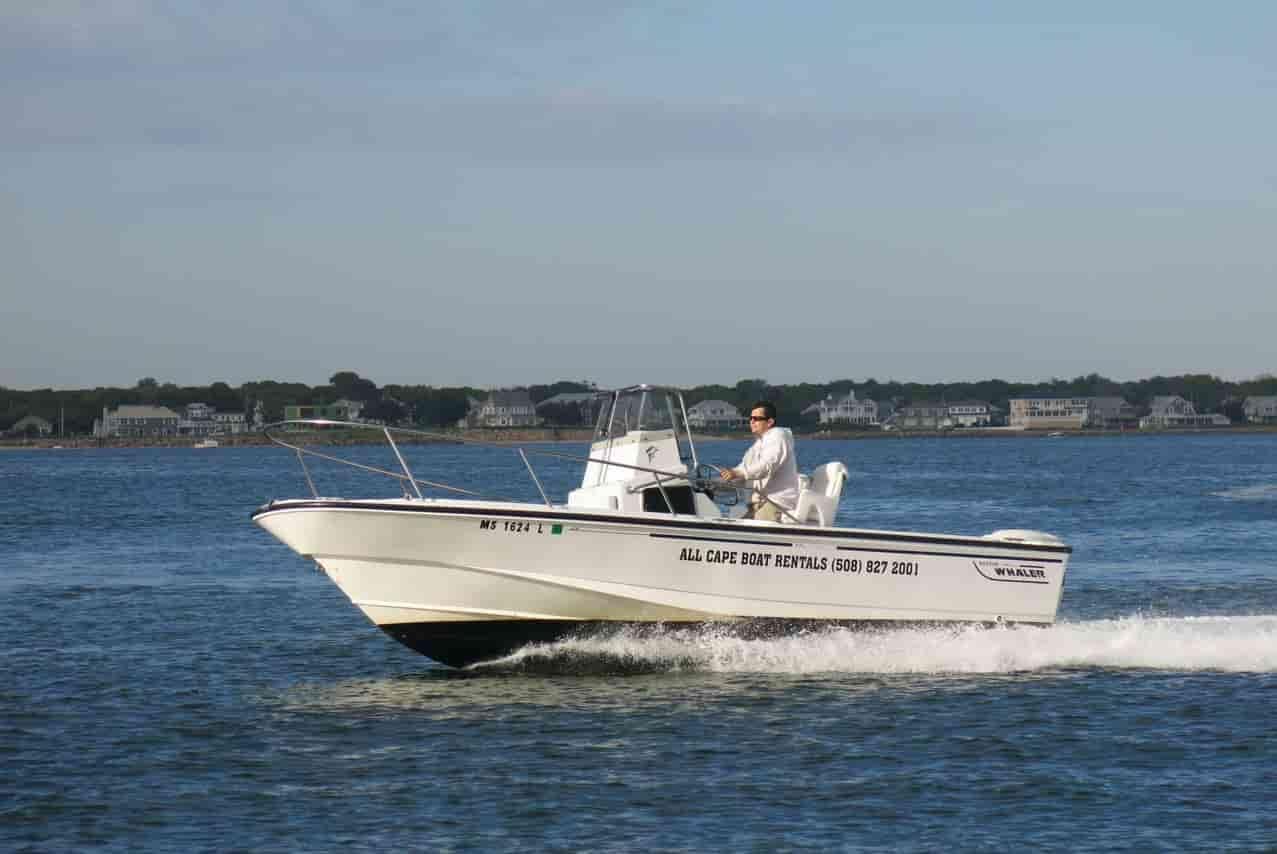 Small Motorboat Cape Cod