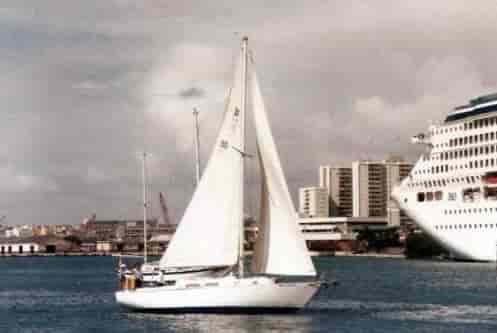 Sailboat Puerto Rico 1