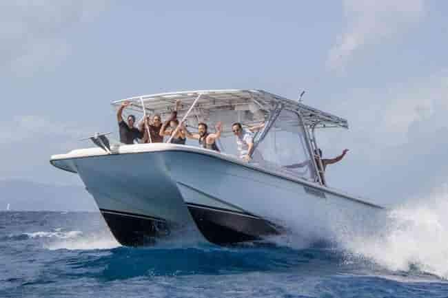 Motorboat BVI 5