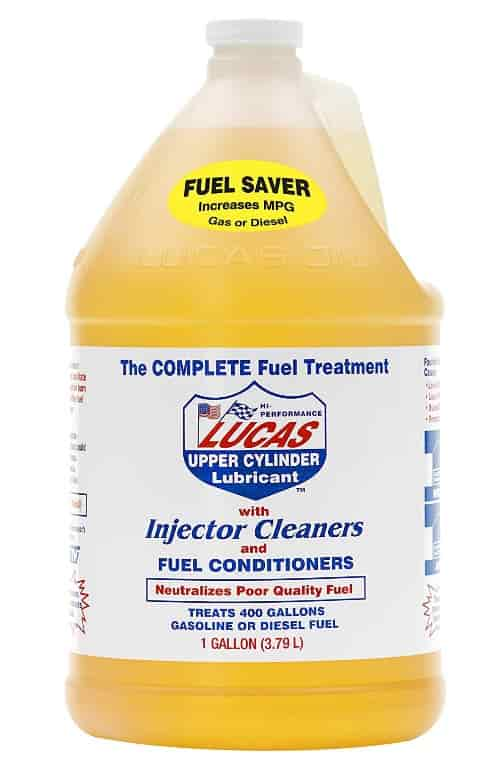 lucas fuel cleaner product