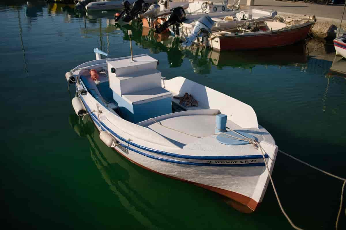 waxing boat deck