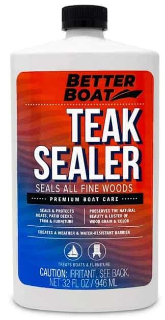 Better Boat Teak Sealer Wax