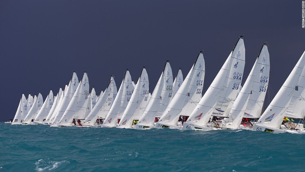 sailboat racing start