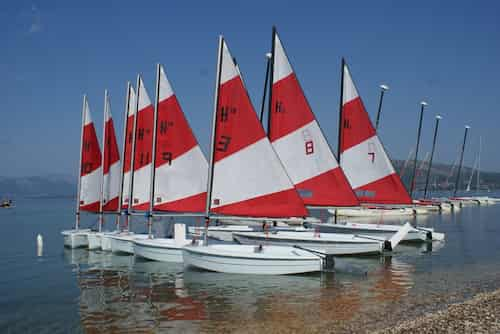 training dinghies for beginners