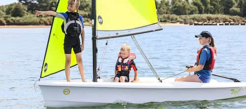 rs zest family sailing dinghy