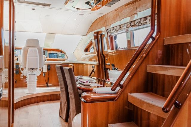 interior boat