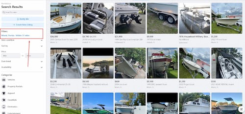 pre owned boat marketplace