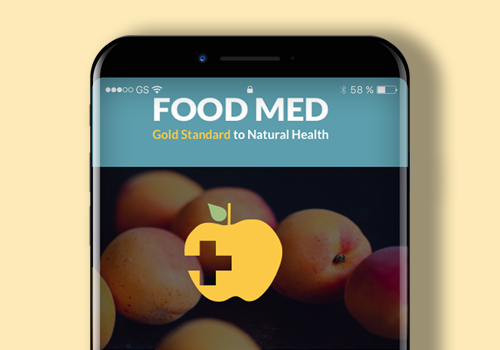 Picture and link of food med app