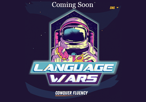 image of a link to the Language Wars Project