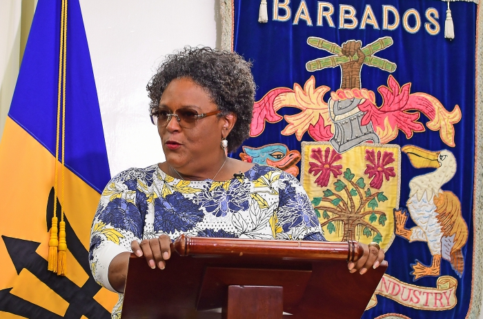 Carlton Cummins' Honorable Mention By Barbados Prime Minister