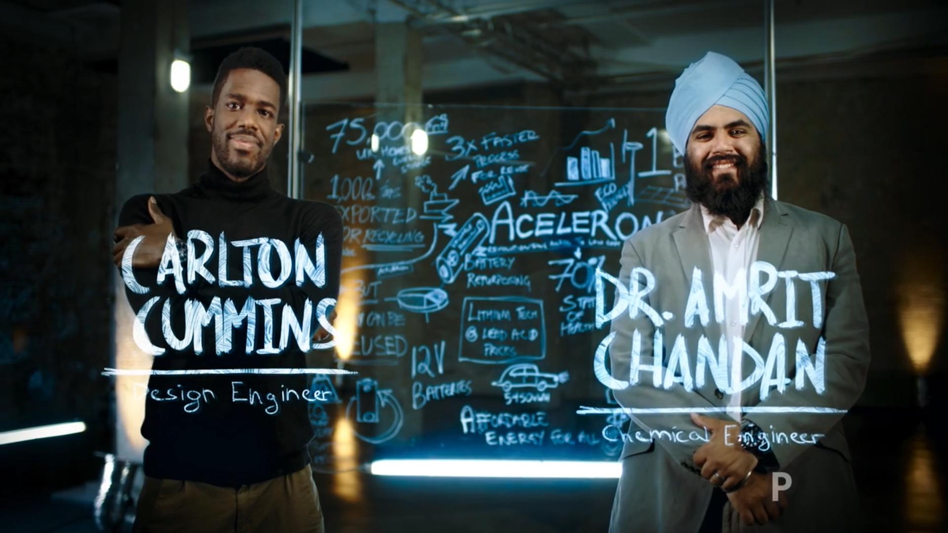 Casio Edifice sponsors Discovery - Next Gen Engineers 'Aceleron'
