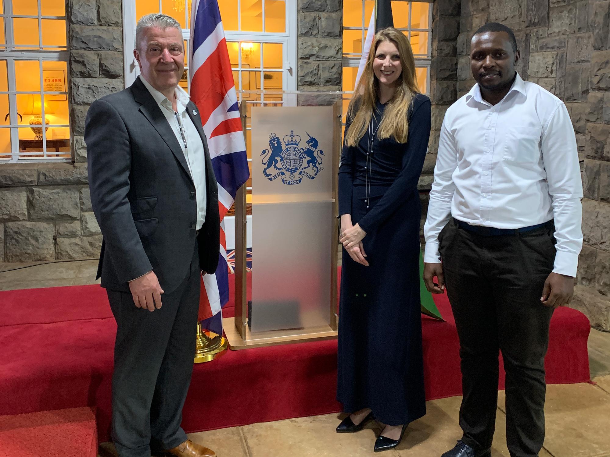 The British High Commissioner Visit