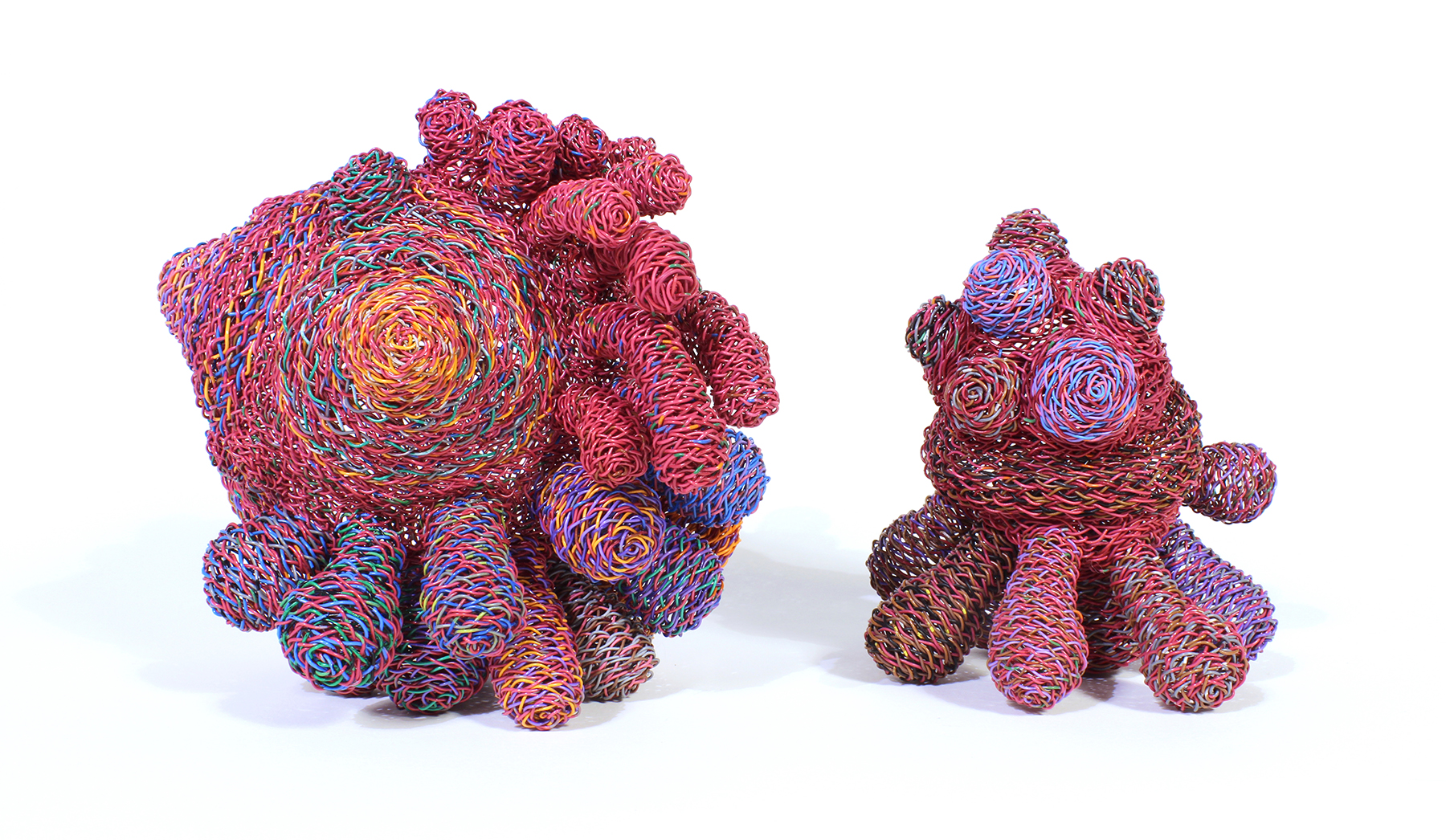 """Twyla Exner, Things 7 & 9, 7: 6""""x6""""x6"""" / 15x15x15cm 