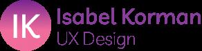 Isabel Korman UX Design logo