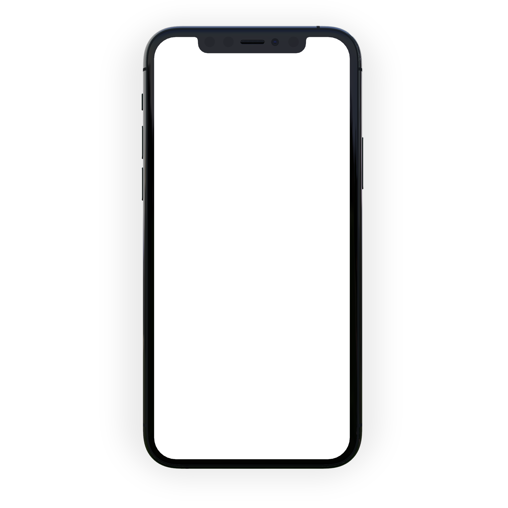 iphone 11 pro mockup rendered