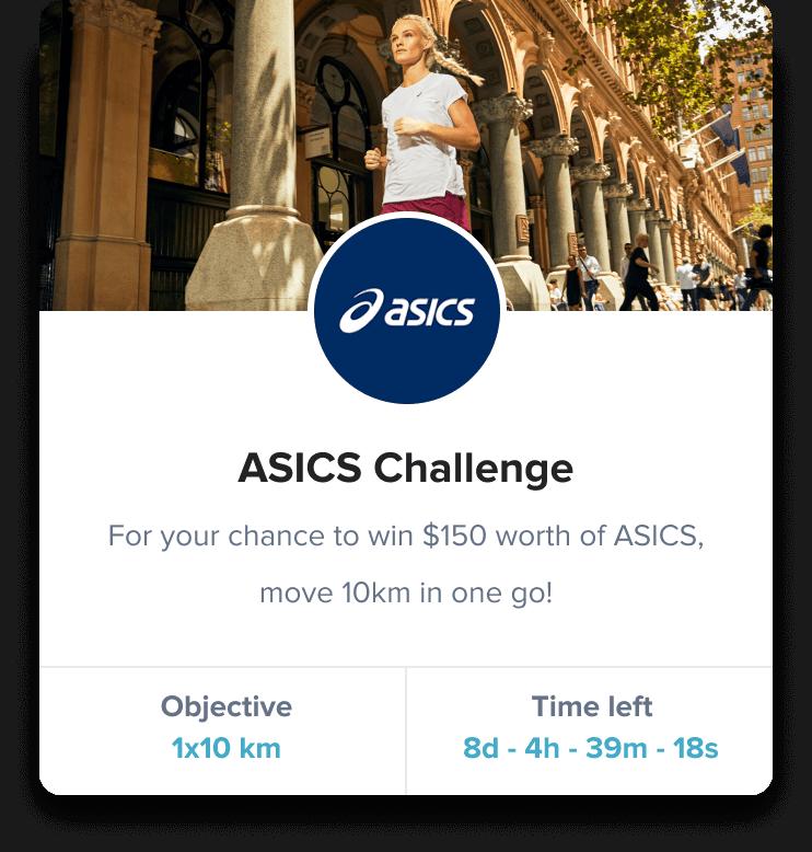 Asics challenge iconic sport challenge