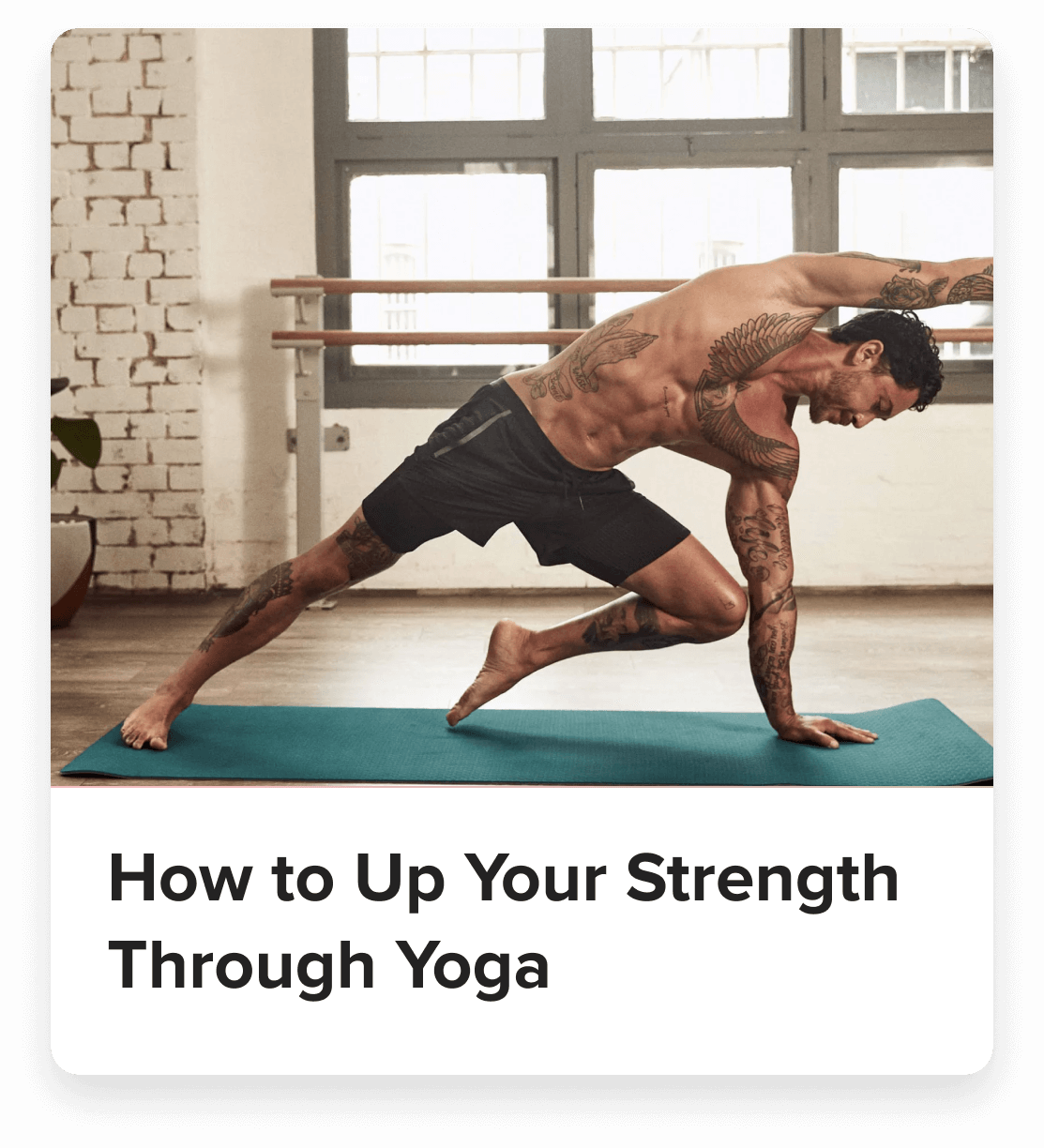 article how to up your strength through yoga iconic sport