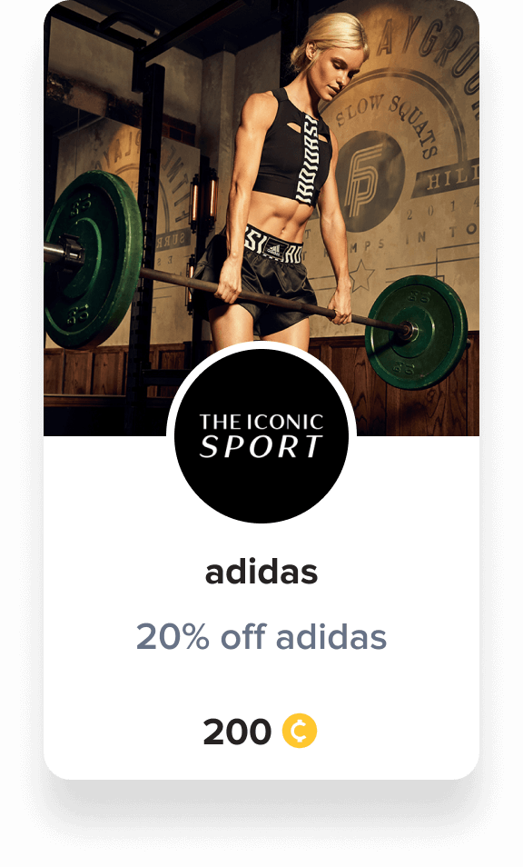 adidas reward voucher iconic sport