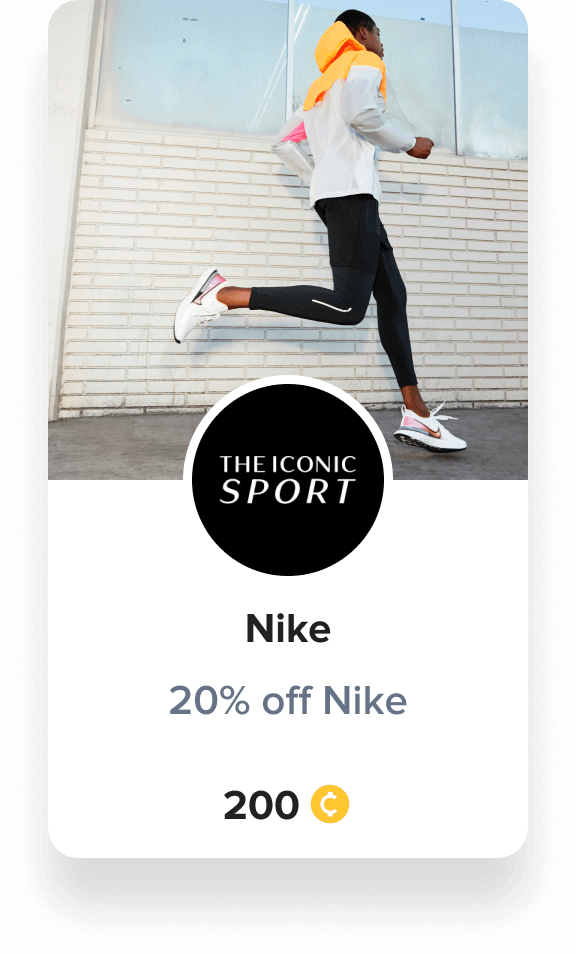 Nike reward voucher iconic sport