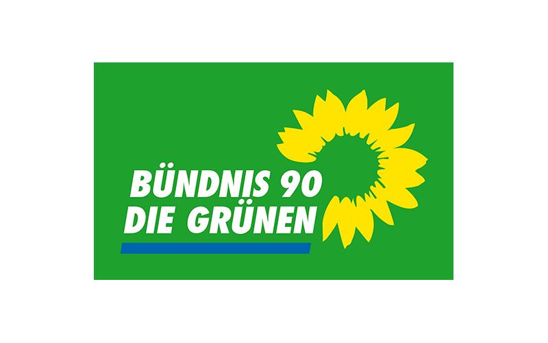 Unternehmenslogo Bündnis 90 / Die Grünen