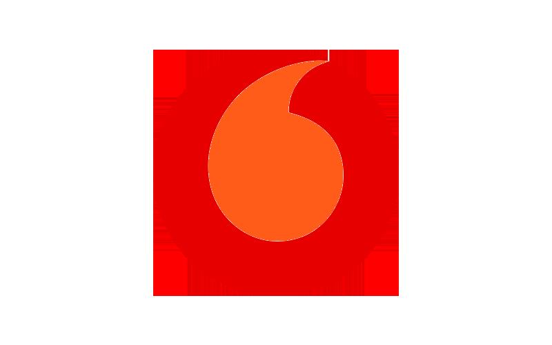 Unternehmenslogo Vodafone