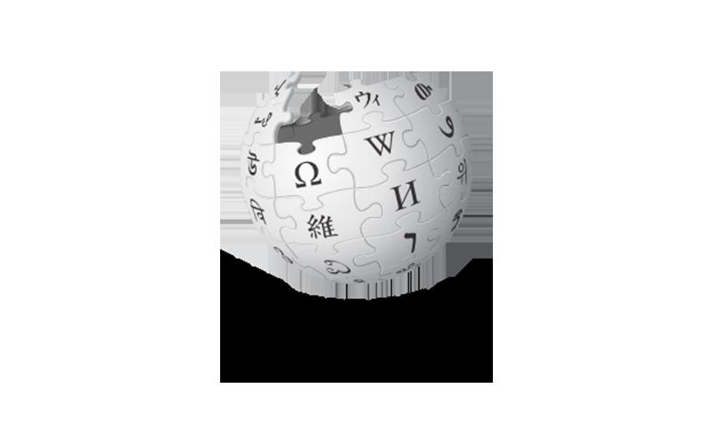 Firmenlogo Wikipedia