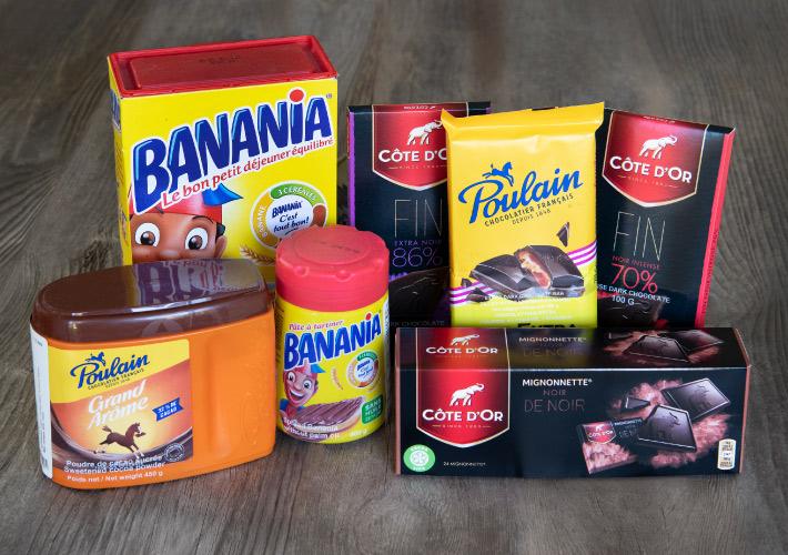Banania and chocolats