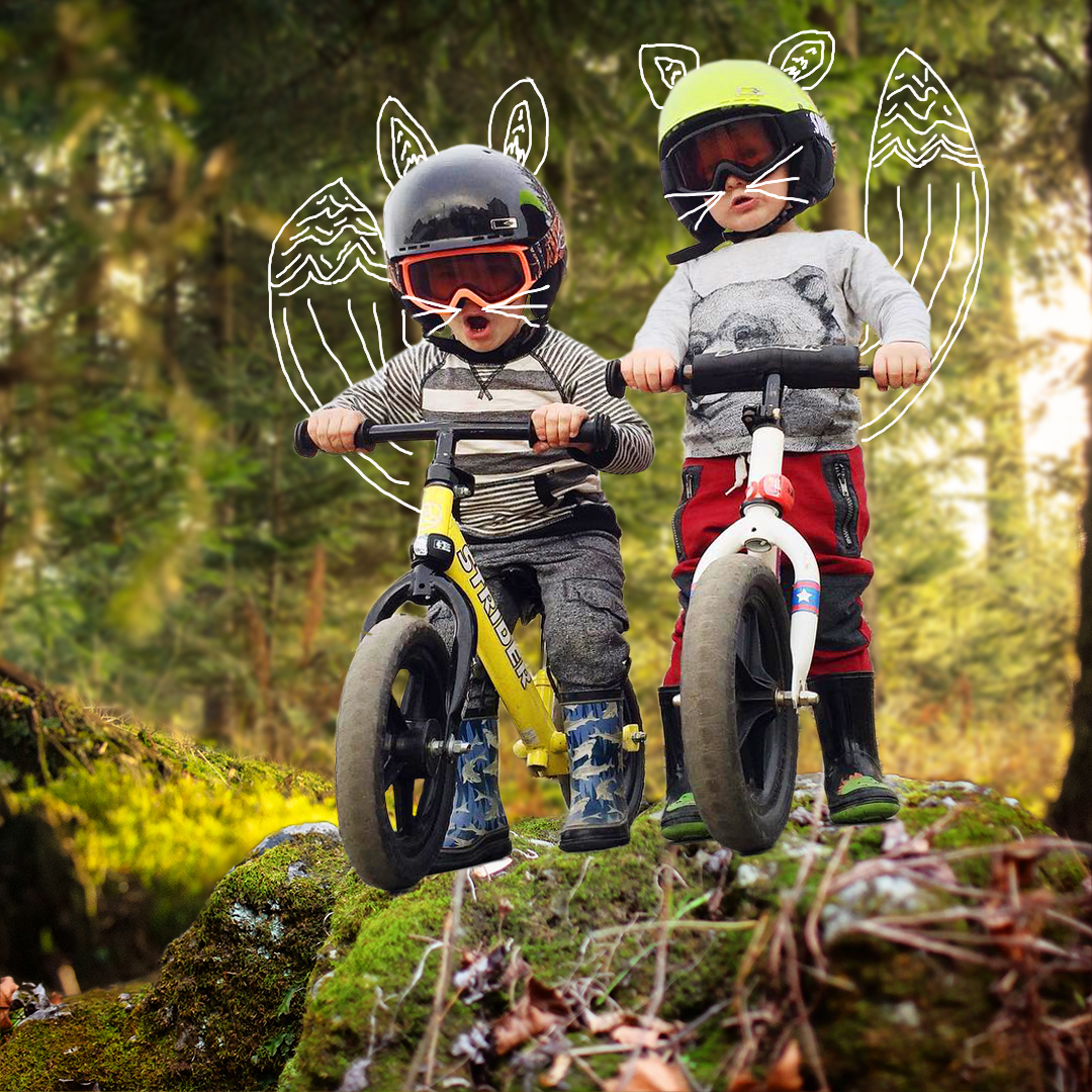 Wild Child Bikes: Foxtail Friday Social Posts