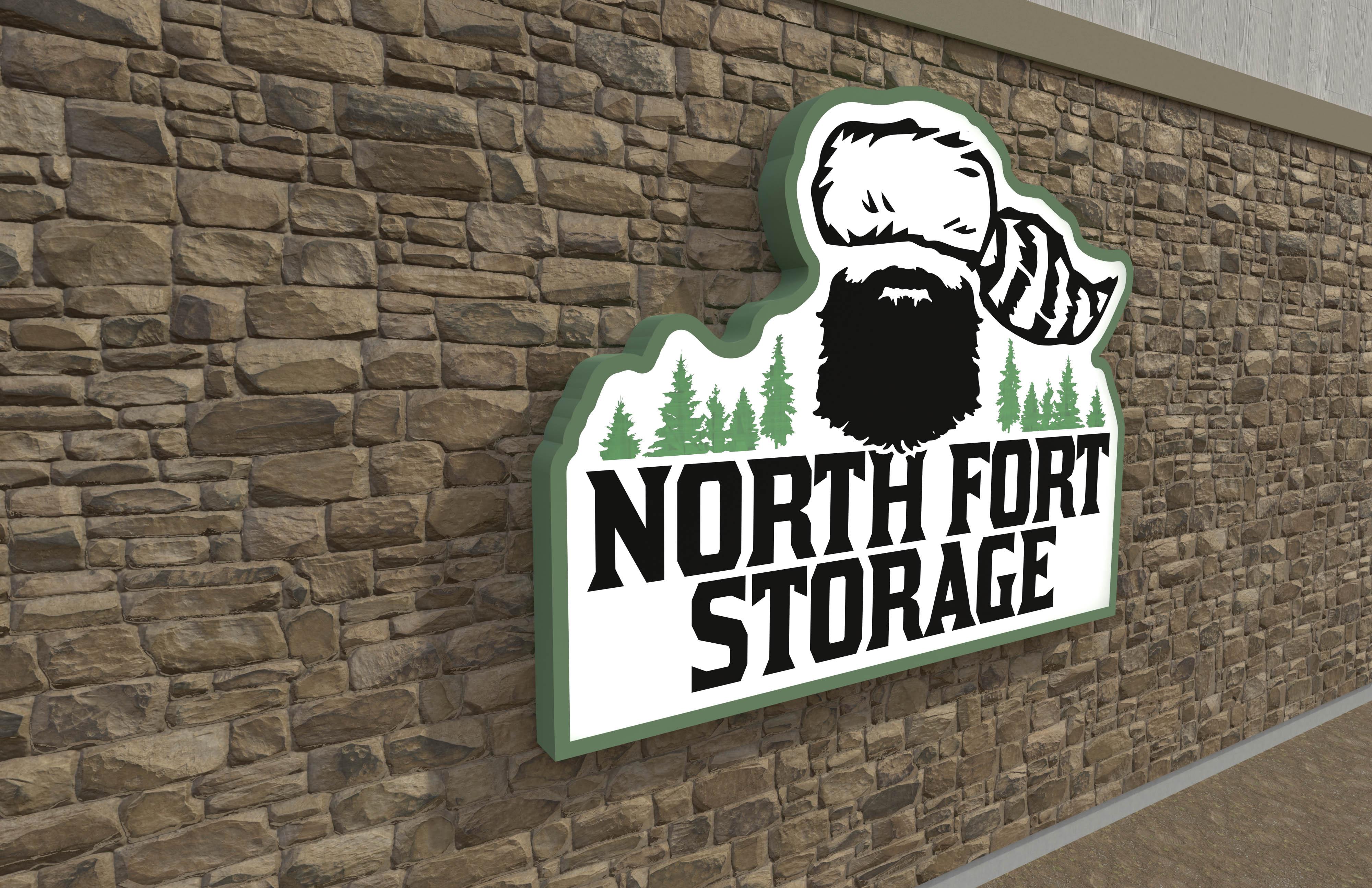 3D Render: North Fort Storage
