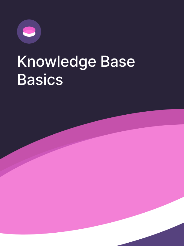 Knowledge base basics course cover