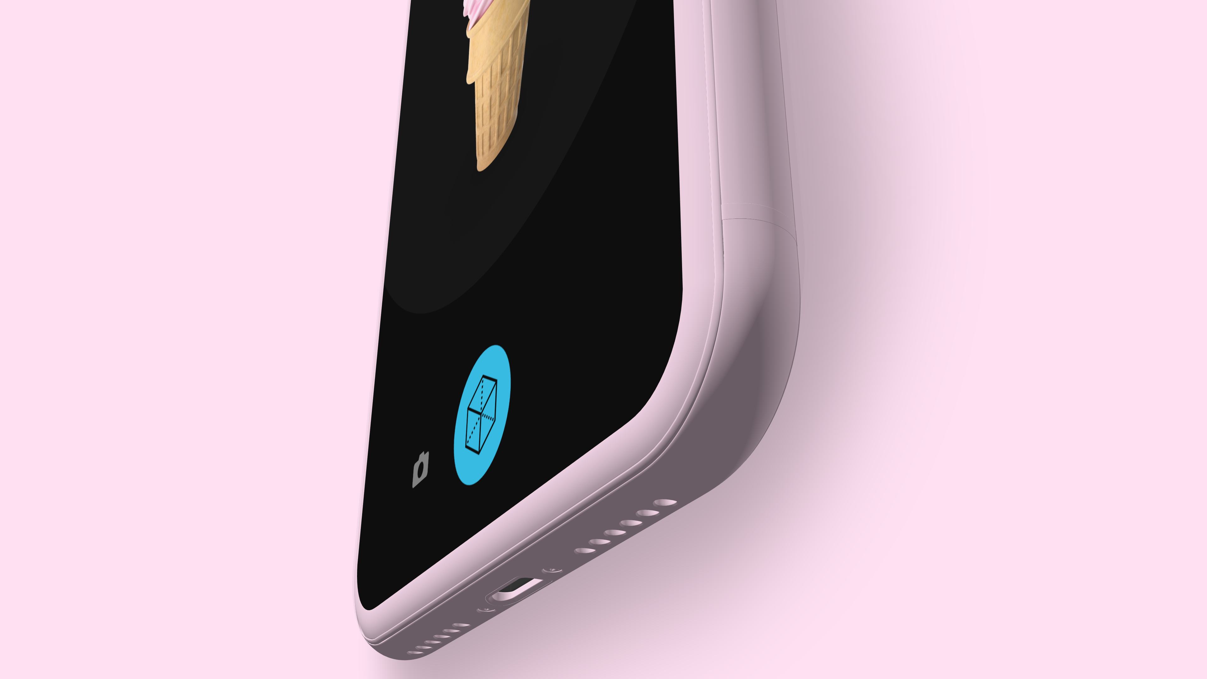 iPhone clay mockup