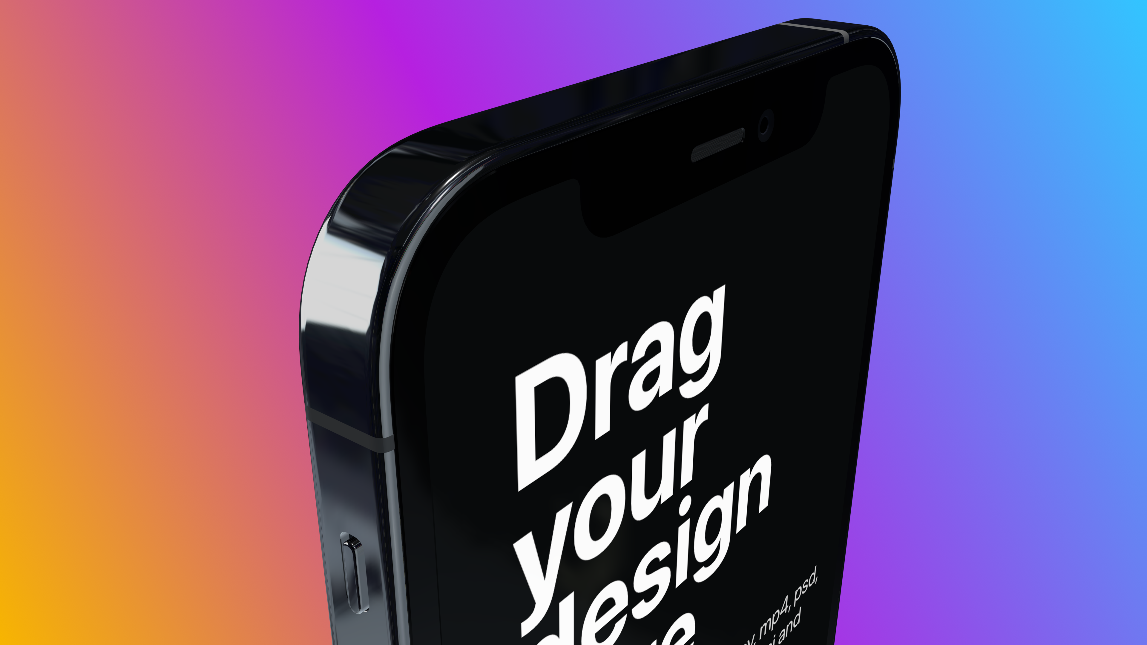 Call out a feature with this mockup